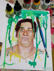 Andre the Giant by shellpresto