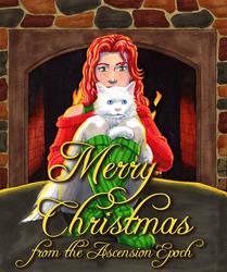 Merry Christmas from Corona and Marshmallow by shellpresto
