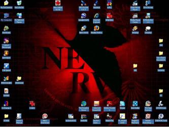 My Desktop on my laptop by DocDETH