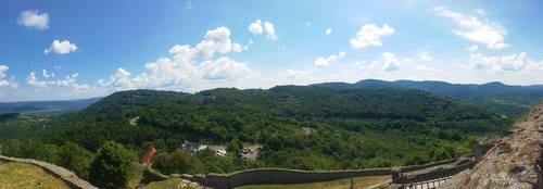Visegrad Citadel Panorama 4 by GamesHarder