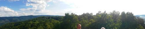 Visegrad Julian Lookout 360 Panorama by GamesHarder