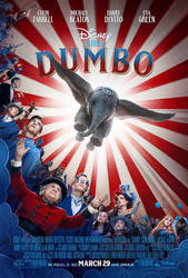 Dumbo New Poster (New Trailer TODAY) by williansantos26