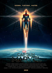 Captain Marvel - New Poster #2 by williansantos26