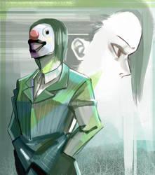 Laughing Clown by kuroikazuto