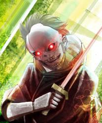 Red-Eyed Zaza by kuroikazuto
