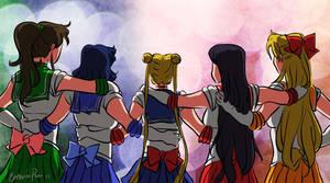 The Sailor Sisterhood by Carina-chan
