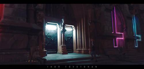 homeless god. indoor by igortovstogan