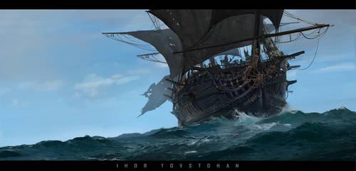 black sails by igortovstogan
