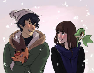 merry crisis *+ announcement abt comic* by ssandshrew