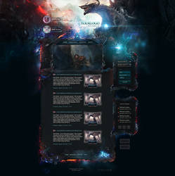 Dragon Game Web Template by DKartsStudio