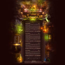 Stone Temple Template by DKartsStudio