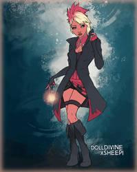 203. Mutant powers - flamingo by Erozja