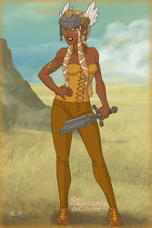 212. Warrior women - Gaelic by Erozja
