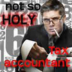 Unholy Tax Accountant by Drool-in-terror