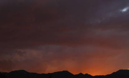 Cloudy sunset by aurorean3311