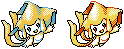 Jirachi GSC sprite by Gothica-the-Eevee