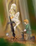 I found you here by Kikis-Art-Journey