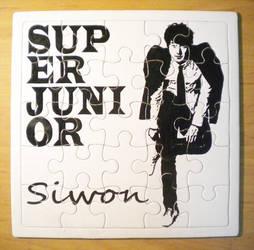 Siwon Puzzle by gMyzo4Kpop