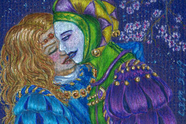 ACEO No More Masquerade by teutelquessir