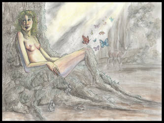 Miranda's Dream by teutelquessir