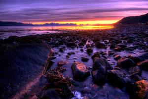 Norwegian Sunset by Heimstrekka