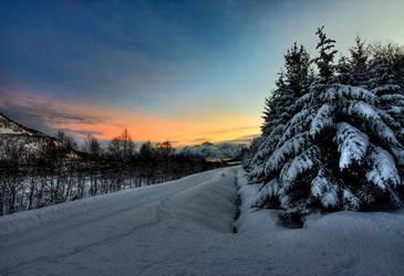 Northern Winter by Heimstrekka