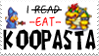 'I eat Koopasta' sprite stamp by koopasta