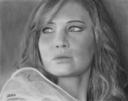 Jennifer Lawrence by Eddyvl