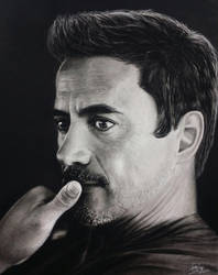 Robert Downey Jr by Eddyvl