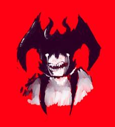 Amon The Demon by BirdOfTheUniverse