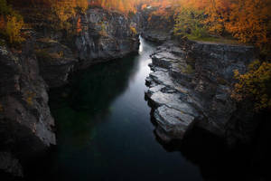 Abisko Canyon by calleartmark