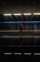 Red Hoodie Series V by calleartmark
