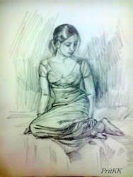 Pensive !!! by PritKK