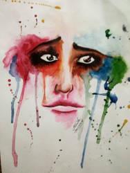 Colors of Pain... by PritKK