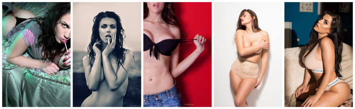 My evolution :P by mariannaphotography