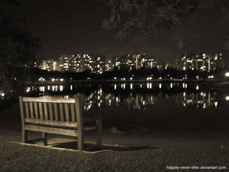 Night view by the lake by happily-never-after