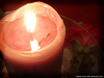 Candles light by happily-never-after