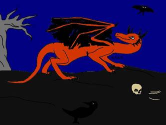 Halloween Dragon by Ataraxia25