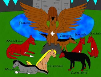 Feanorian Wolves 2014 by Ataraxia25