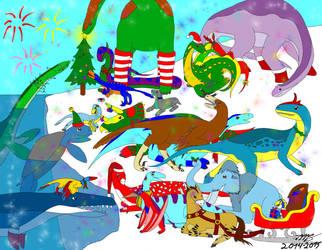Merry Christmas 2014 by Ataraxia25