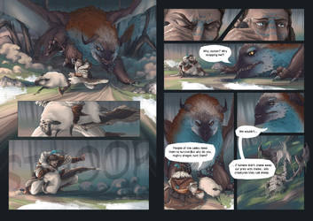What about the dragons (page 13-14) by Sarianne