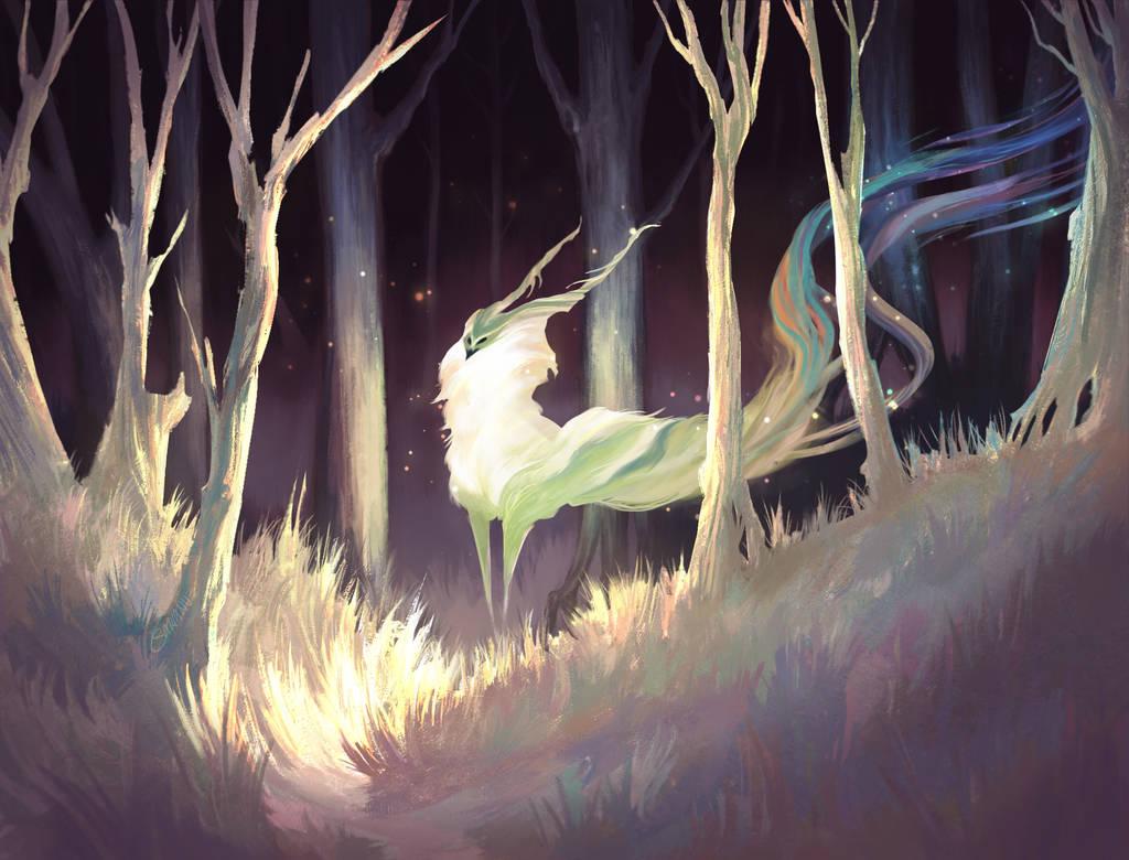 Oh,Deer 2 by Sarianne