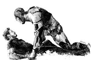 Iron man 3 by Yuzson