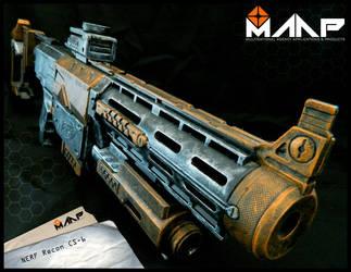 MAAP Nerf Recon CS-6 #4 by Raccon85