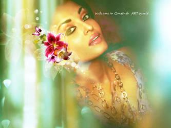 welcome in qmashah art by qmashah