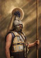 Philip II of Macedon (commission) by Panaiotis