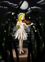 Night of the Fireflies by Lunatta