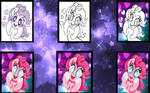 Pinkie Pie (Step-By-Steps) by mlpariana