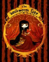 The Bookworm Lady by CottonValent