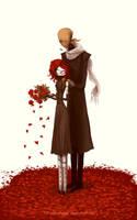 Sweet rose petals by CottonValent